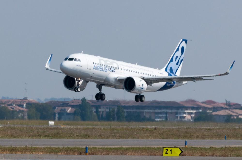 Pengiriman Airbus A320neo Pertama
