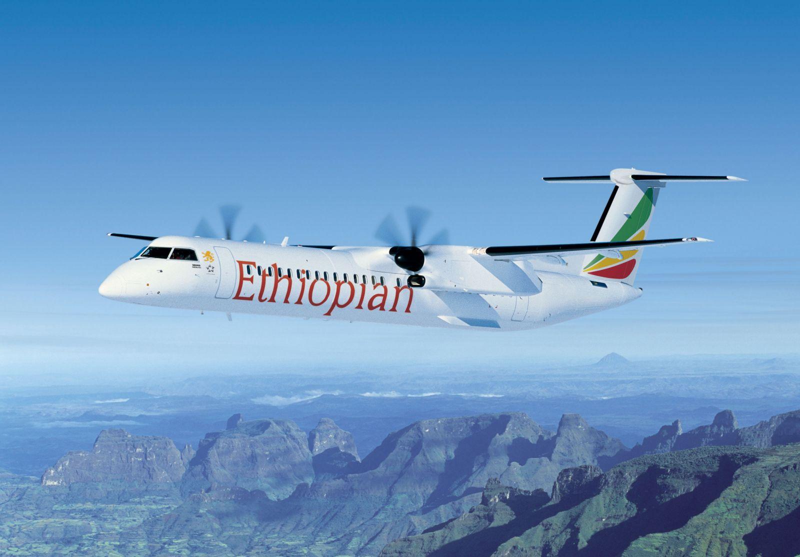 bombardier Q400-Ethiopian Airlines Pemakai Bombardier Terbesar di Afrika