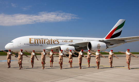 A380 emirates, Etihad, Airways