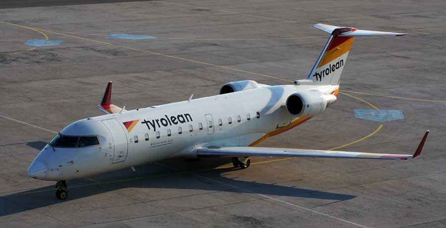 Bombardier CRJ200 jenis pesawat yang sama dengan Canadaair yang jatuh di Swedia