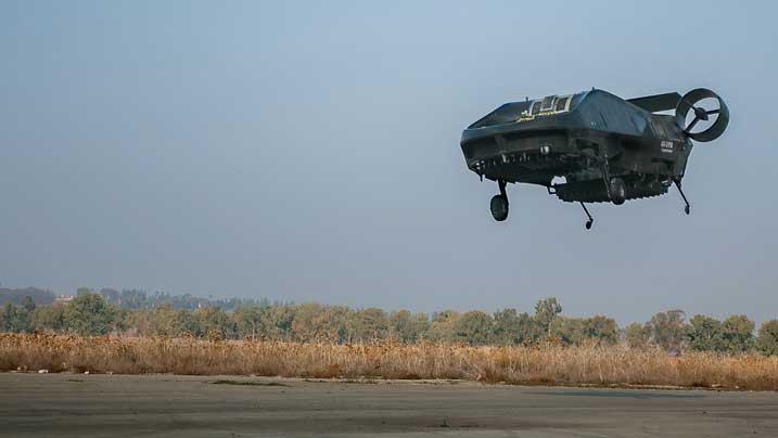 Drone-Israel-AirMule-Uji-Terbang