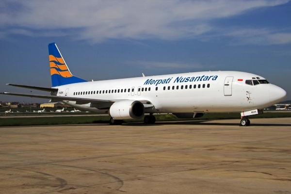 Merpati Airlines Dilirik Satu Investor Asing