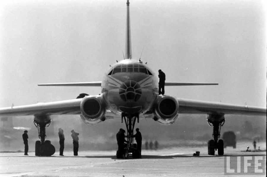 TU-104, Jet Airlines Pertama Soviet