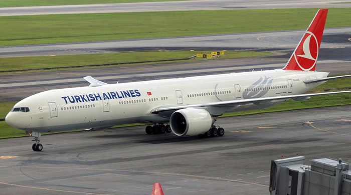 Turkish Airlines Mendarat Darurat