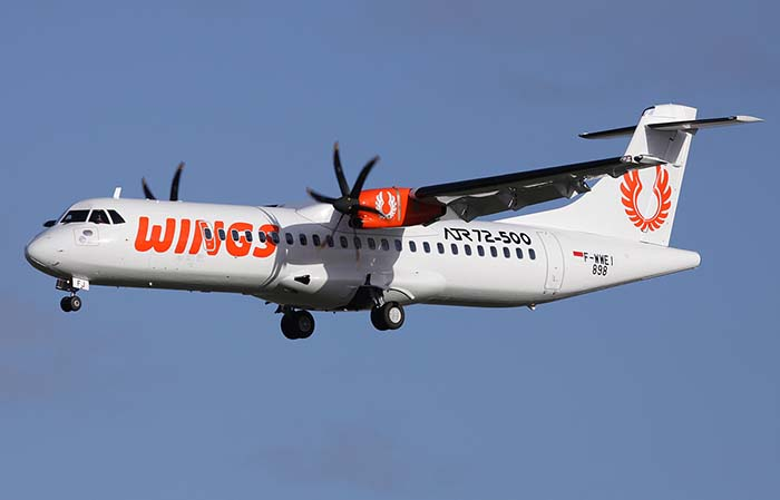 Wings Air Buka Rute Balikpapan-Palu