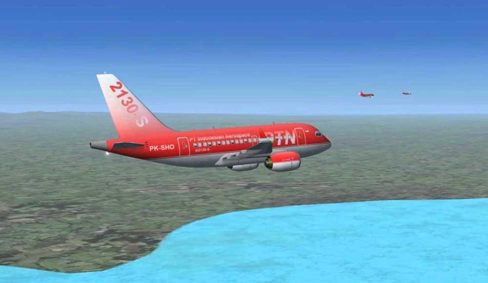 KAI PTDI Coba ganggu Boeing dan Airbus