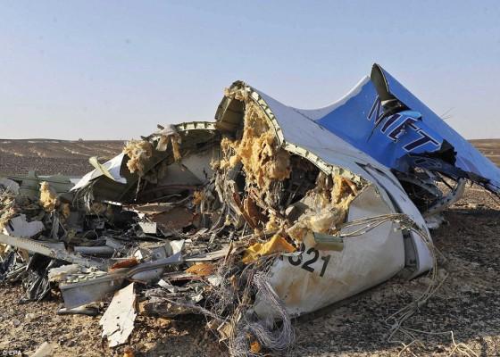 Kecelakaan pesawat Metrojet di Mesir