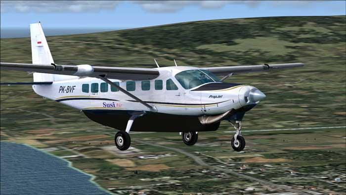Susi Air rute perintis