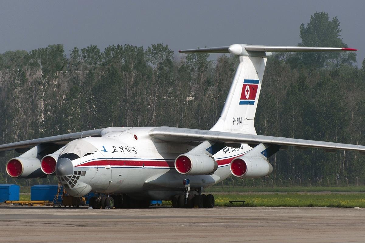 Air Koryo Ilyushin Il76 MD (commons.wikimedia.org)