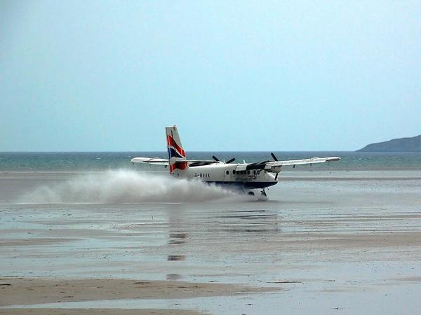 Barra-Airport-Scotland-Ini Dia Beberapa Runway Ekstrem di Dunia-Bag II