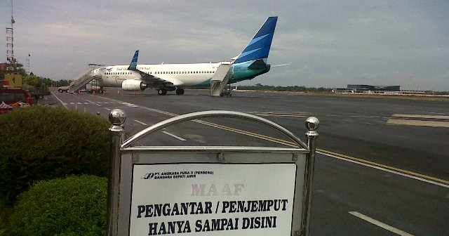 Terminal baru Bandara Depati Amir