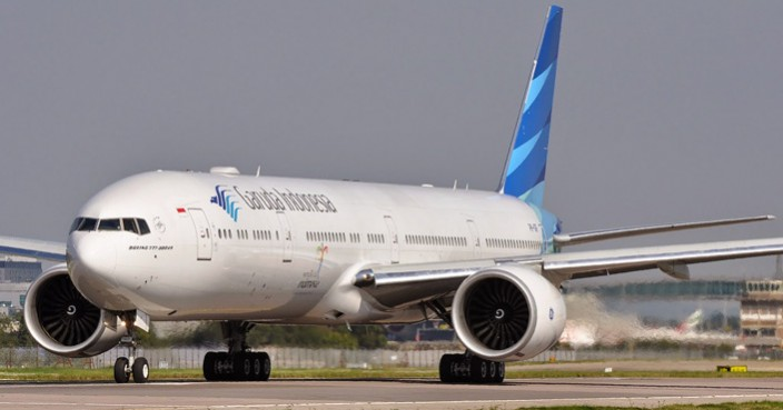 Garuda Rute Jakarta-Shanghai Ganti Pakai Boeing 777-300ER
