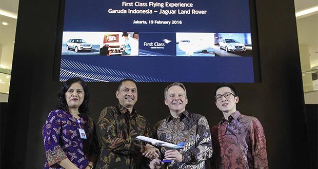 first class Garuda Indonesia
