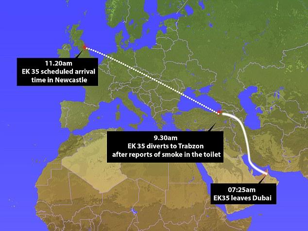 Emirates Dubai-Newcastle Dialihkan ke Turki