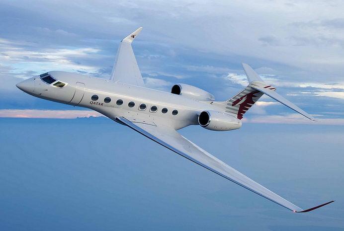 SINGAPORE AIRSHOW: Qatar Airways Pamerkan Gulfstream G650 ER