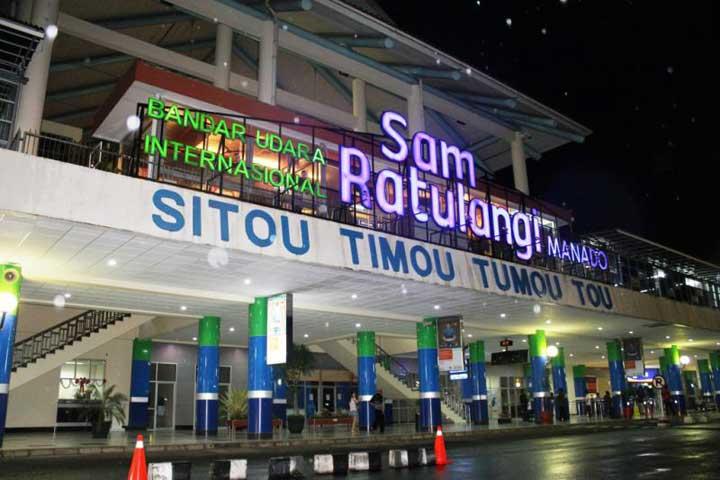 Cuaca Buruk, Penerbangan di Manado Kacau Balau 12 Jam
