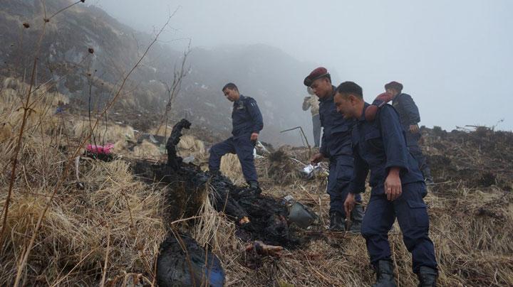 Potongan Tubuh Tersebar di Sekitar Tempat Jatuhnya Tara Air