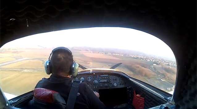 Inilah Gambaran Kecelakaan yang Terlihat dari Sudut Pandang Pilot