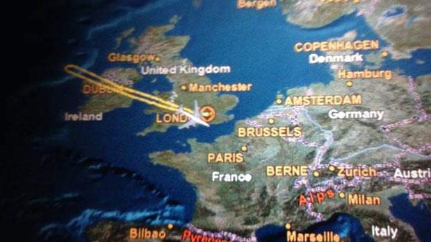 Virgin Atlantic berbalik arah akibat serangan laser. (Foto: sky.com)