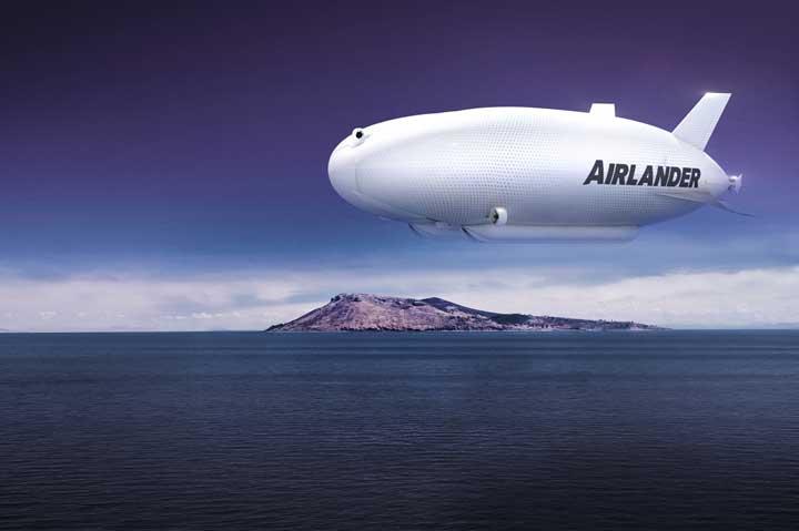 Airlander Masih Kalah Besar dengan Si Legendaris Hindenburg