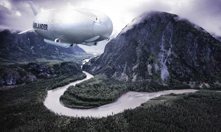 Pesawat Hibrid Terbesar Airlander 10, Diuji Terbang Maret
