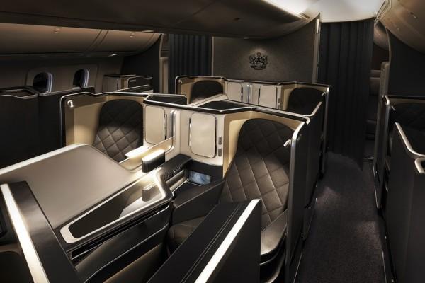 Kelas Utama British Airways (The National Business)