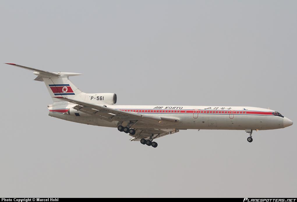 Tupolev 154B Air Koryo (www.planespotters.net)