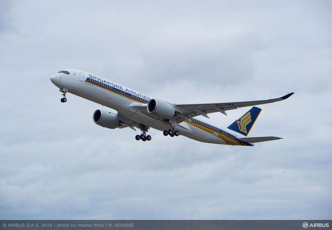 Airbus A350-900 (XWB) Singapore Airlines