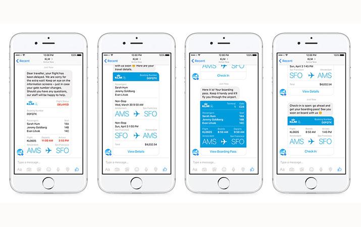 Facebook Kenalkan Fitur Informasi Penerbangan di Messenger