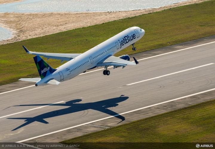 Pesawat Airbus A321 Rakitan USA Siap Dikirim ke Pemesan
