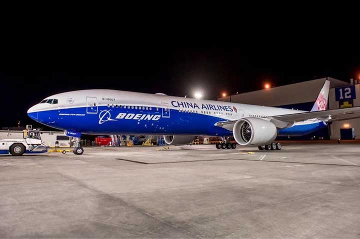 Wah, Livery B-777-300ER China Airlines Kereen...