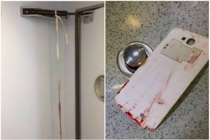 Penumpang Nyaris Tewas Bunuh Diri dengan Casing Ponsel di Toilet