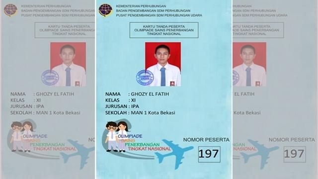 Terobsesi Jadi Pilot, Siswa Madrasah Ikuti Olimpiade Sains Penerbangan