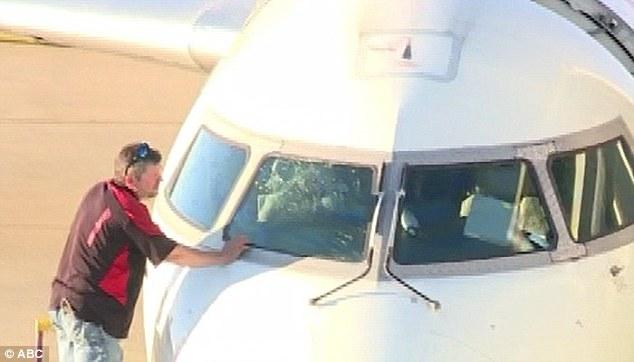 Tabrak Burung, Kaca Pesawat Retak dan Terpaksa Mendarat Darurat