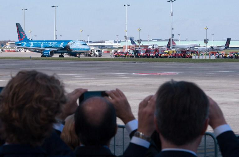 Suasana Haru Warnai Penerbangan Perdana dari Zaventem