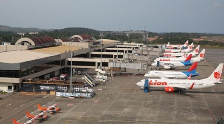 Lion Air Bandara Hang Nadim Batam