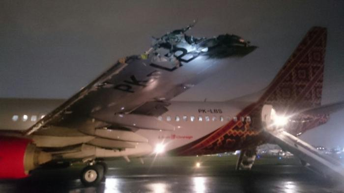 Batik Air Tabrakan di Halim Sedianya Terbang ke Makassar