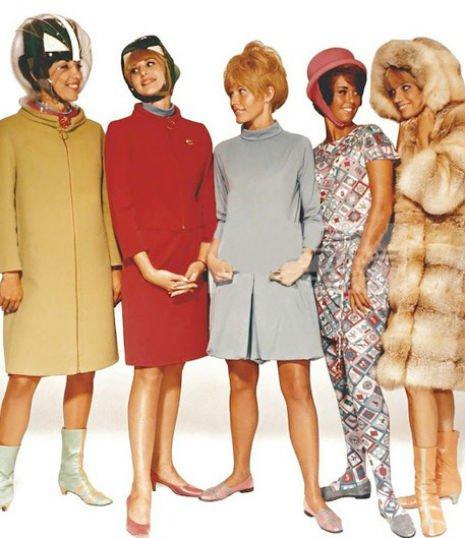 Gaya Pramugari di Era 1970-an