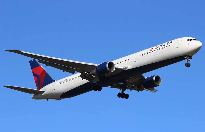 Delta-airlines-boeing-767-432er-Pilot Terlelap Saat Terbang, ATC Yunani Panik