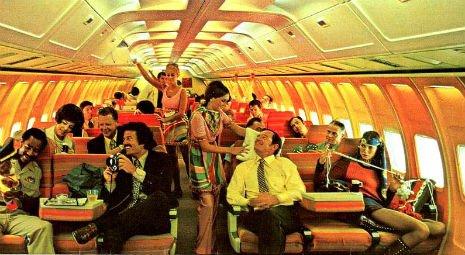 Braniff International Airways awal 1970an