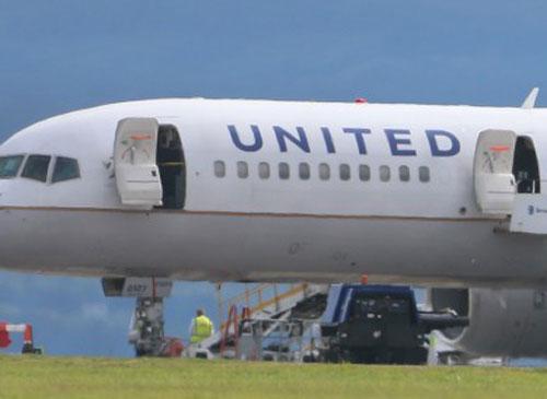 Turbulensi United Airlines