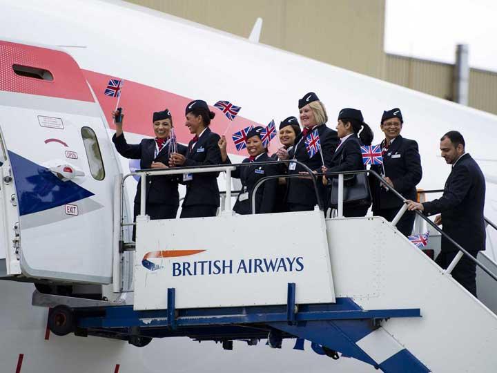 British Airways Hapus Layanan Makanan Gratis ke Penumpang