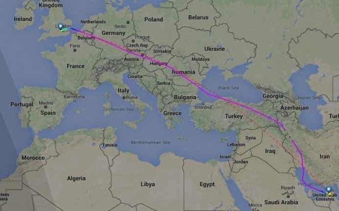 Boeing 777 British Airways Diintersep 2 Gripen Hungaria