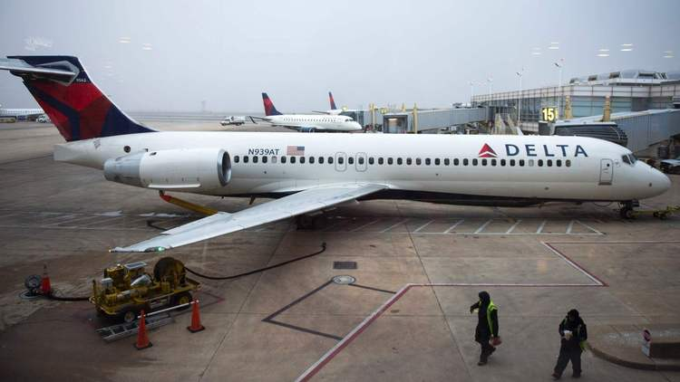 Dihajar Turbulensi, Penutup Mesin Delta Airlines Copot