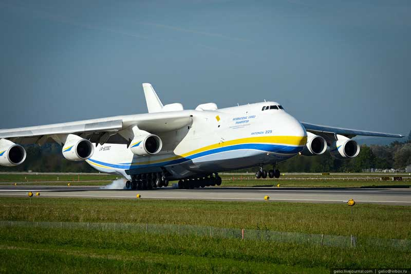 Bagaimana Pesawat Terbesar di Dunia Bekerja? Fakta dan Kisah AN-255 Mriya