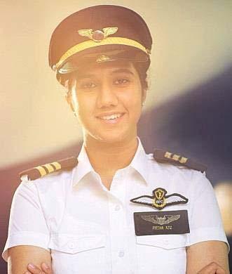 Ayesha Aziz Pilot Perempuan Termuda di Dunia