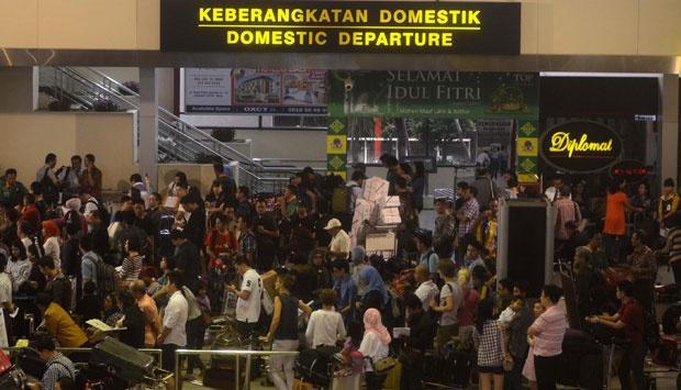 Jakarta-Surabaya Rute Terpadat Selama Lebaran