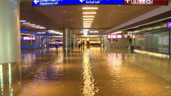 Kebanjiran, Kepala Bandara Taoyuan Taiwan Mundur dari Jabatan