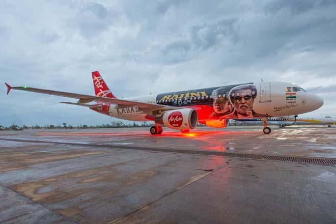 AirAsia India Luncurkan Livery Kabali
