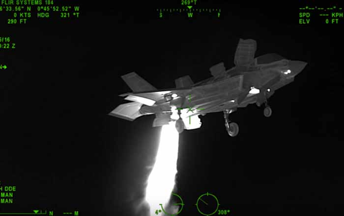 Scary But Cool F 35b Shoot Wiht Thermal Imager